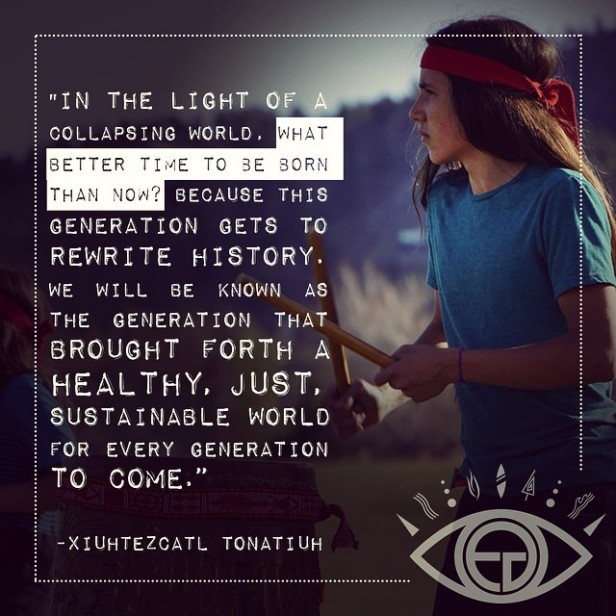 Earth guardian inspiration | #generationRYSE #wisewords #inspirationalquotes #happymonday